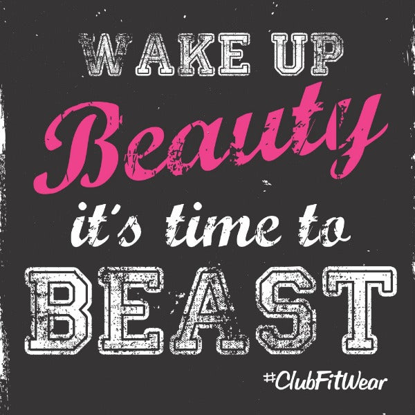 Wake up Beauty time to get Beast