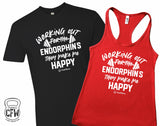 Working out for the Endorphin's they make me Happy