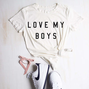 "Women's ""Love My Boys"" Tee"