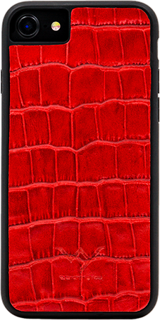 WY - Cover Coccodrillo Rosso Iphone 7/8