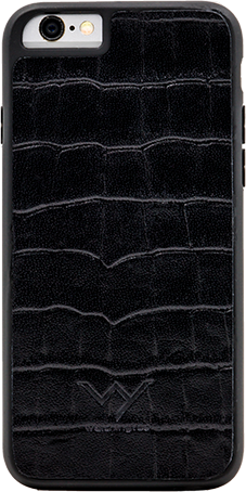 WY - Cover Coccodrillo Nero Iphone 6/6s