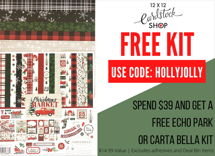FREE Echo Park Kit With $39 Purchase