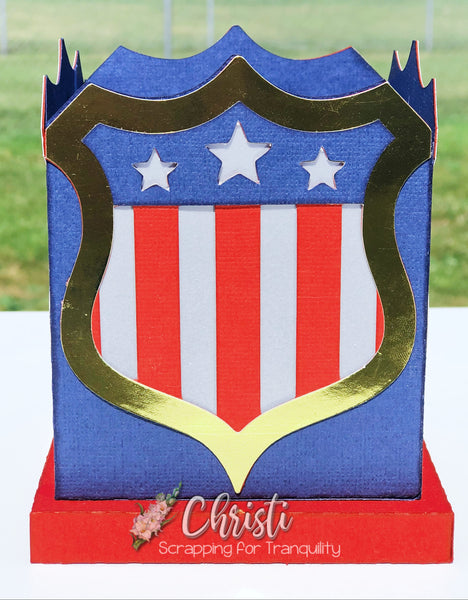 Patriotic Tealight Holder