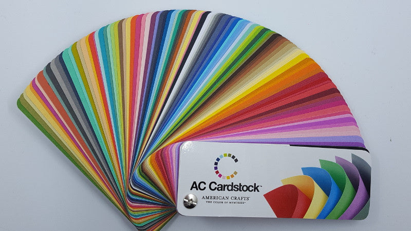 Bazzill Matches for Discontinued American Crafts Cardstock Colors