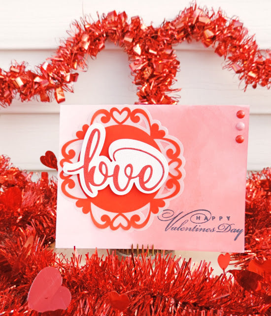Valentine's Day Card and a GIVEAWAY!