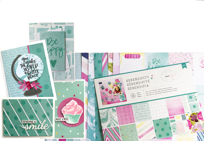 44 Cards With ONE Scrapbook Kit