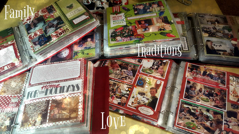 Preserve traditions by adding memories to Christmas Scrapbook