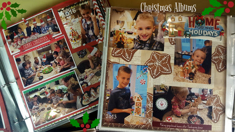 DIY Scrapbook pages that preserve Christmas memories