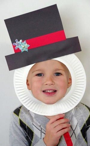 Frosty the snowman kids craft