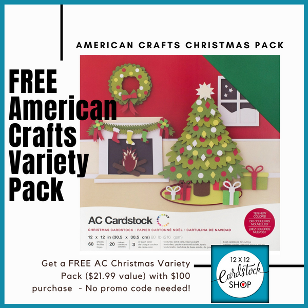 american crafts variety pack promo sale