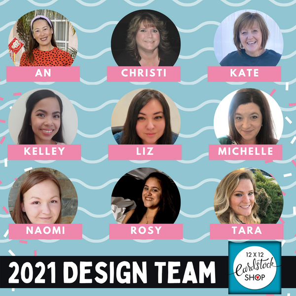 12x12 Cardstock Shop Design Team