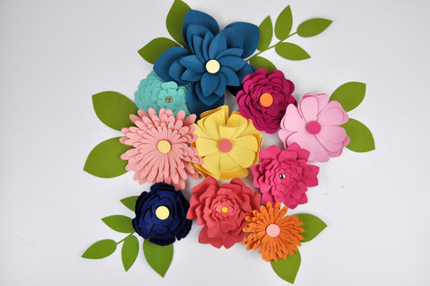 3d Paper Flowers using cardstock from 12x12 Cardstock Shop. #12x12cardstockshop #paperflowers #jengallacher