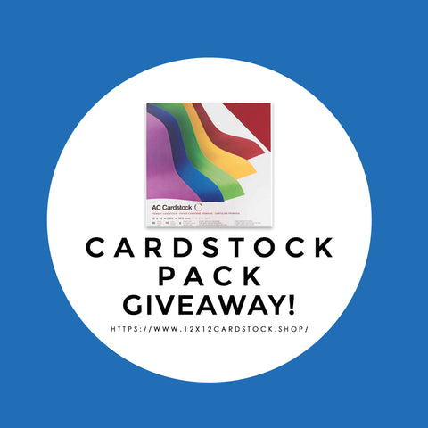 12x12 Cardstock Shop Smooth Cardstock Giveaway #cardstock #12x12cardstock #papergiveaway