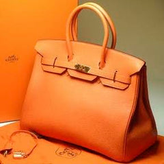 TANGERINE cardstock color is similar to the color of this apricot purse