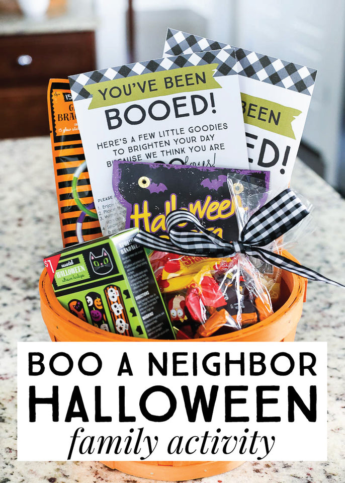 You have been Booed! Fun ideas to bring a big smile to our friends and neighbors for Halloween