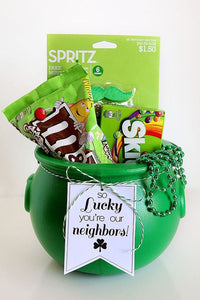 Neighbor gift for St. Patrick's Day