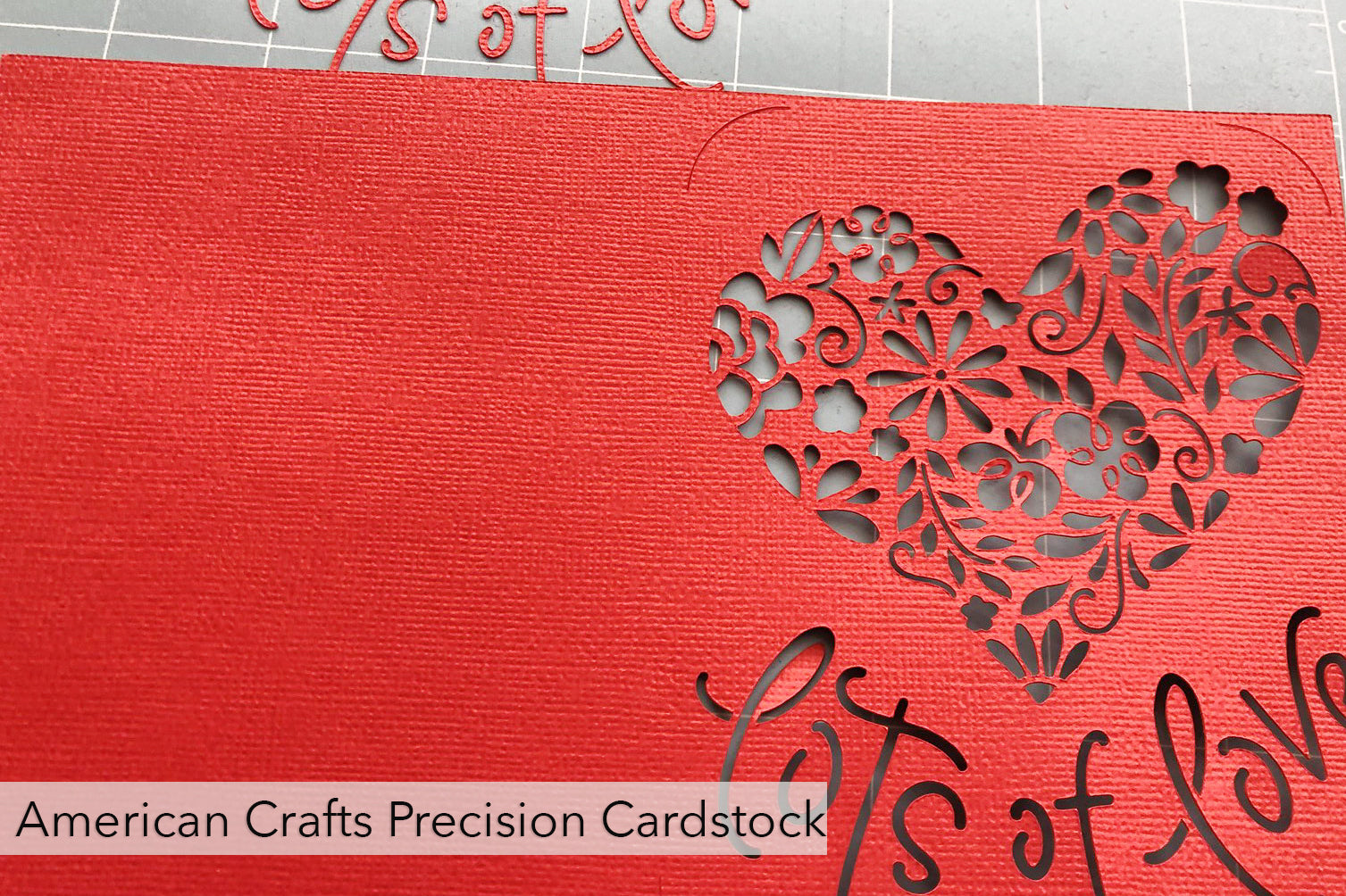 american crafts precision cardstock test cuts
