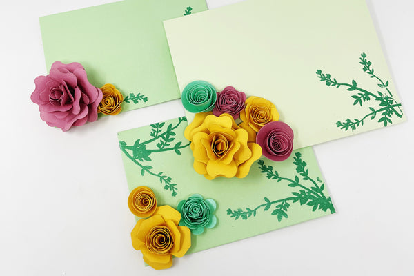 how to make handmade paper flowers