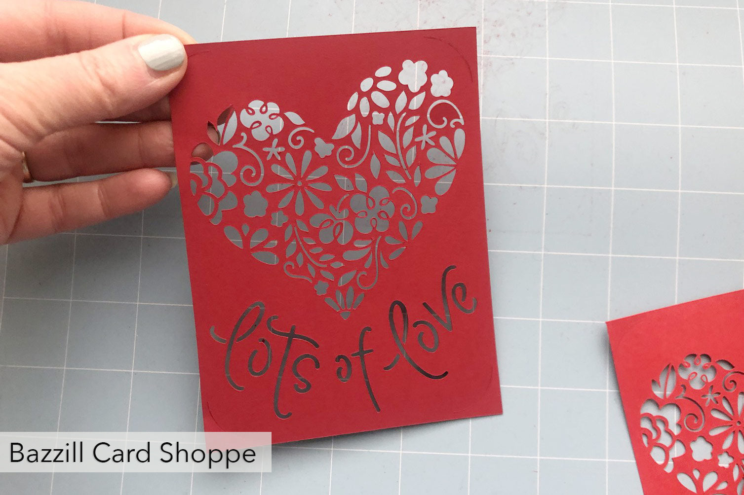 bazzill card shoppe test cut