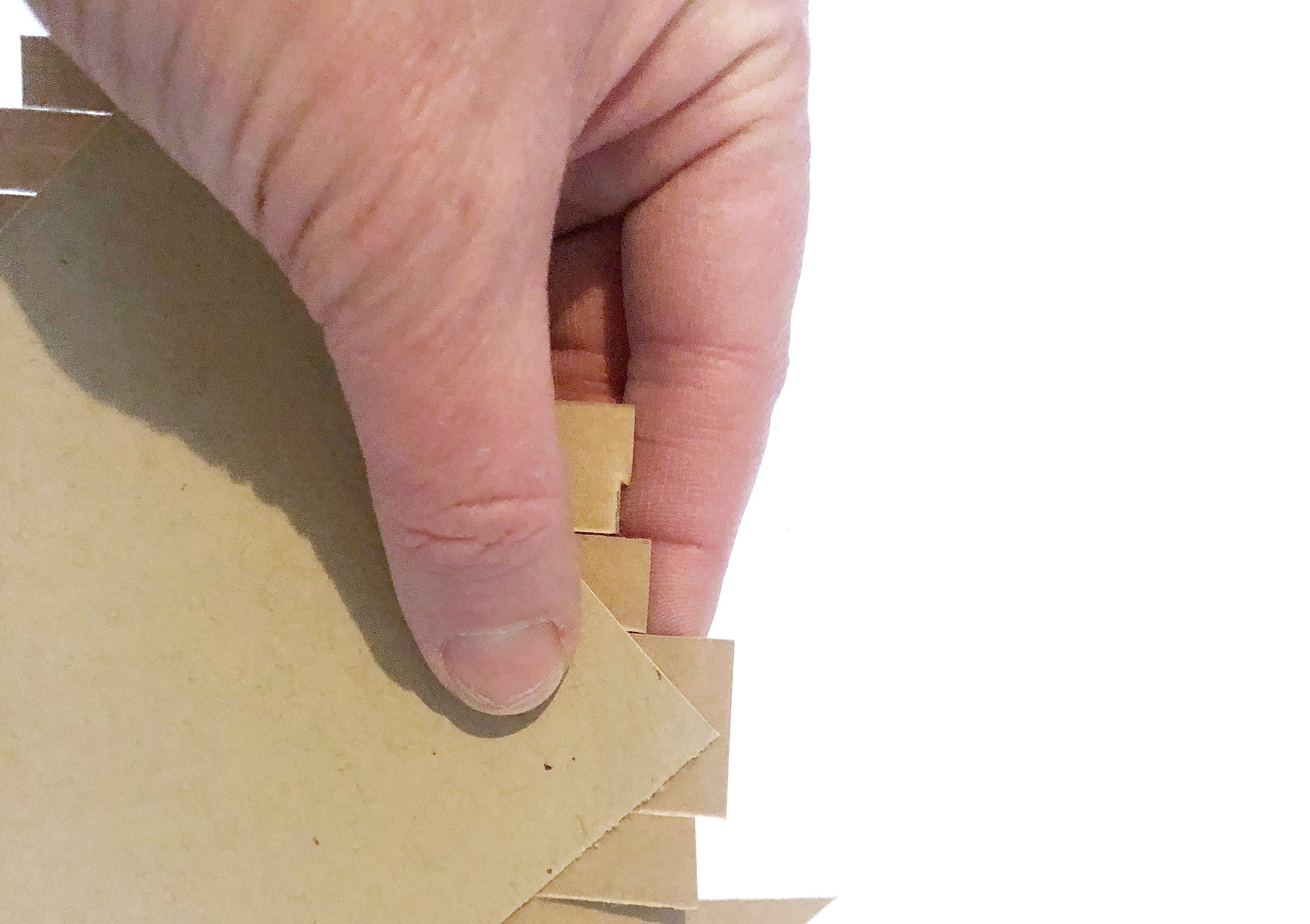how to make a wood inlay card