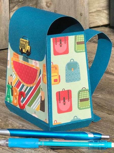 svg cuts paper backpack
