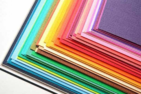 Colored cardstock