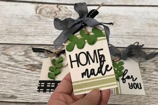 farmhouse style paper tag