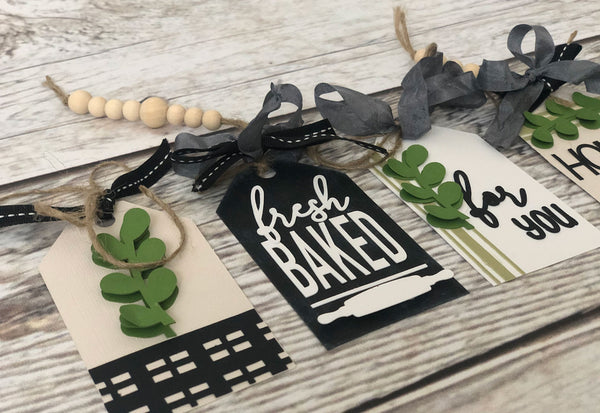 farmhouse style paper tags