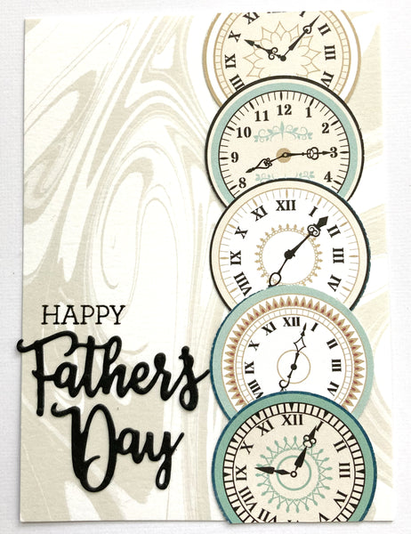 handmade fathers day card using bo bunny collection kit