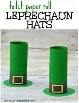 St. Patrick's Day Leprechaun hats.