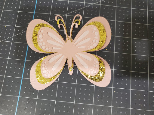 layered paper butterfly tutorial