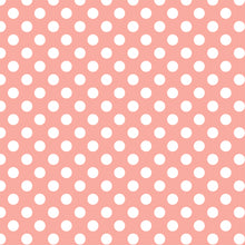 Load image into Gallery viewer, White dots on peach background - 12x12 cardstock from Echo Park Paper Co.