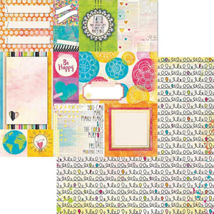 12x12 double-sided patterned paper with Worship theme from BoBunny
