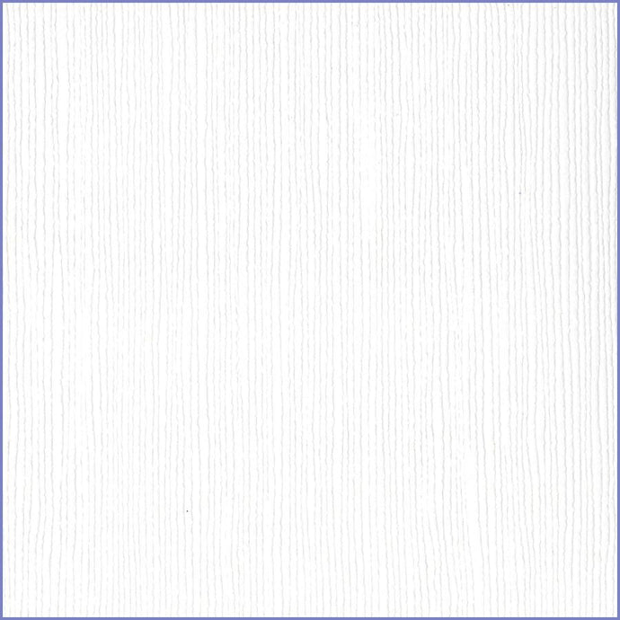 Bazzill Basics AVALANCHE bright white cardstock -12x12 inch - 80 lb-textured scrapbook paper