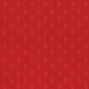 Light Red Dotted Swiss Cardstock - 12x12 inch - embossed, geometric design - Bazzill Basics