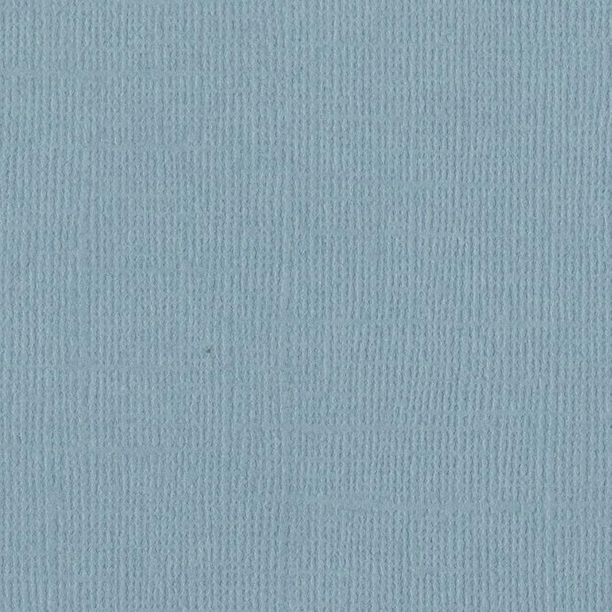Bazzill Basics - Coastal blue - 12x12 inch- 80 lb - textured cardstock and scrapbook paper