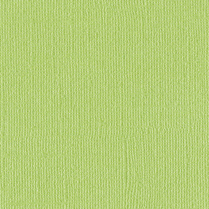 PETTY CASH - lime green 12x12 cardstock with shimmery mica coating - Bazzill Bling Collection
