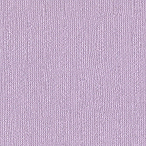 INFATUATION - pale purple 12x12 cardstock with shimmery mica coating - Bazzill Bling Collection