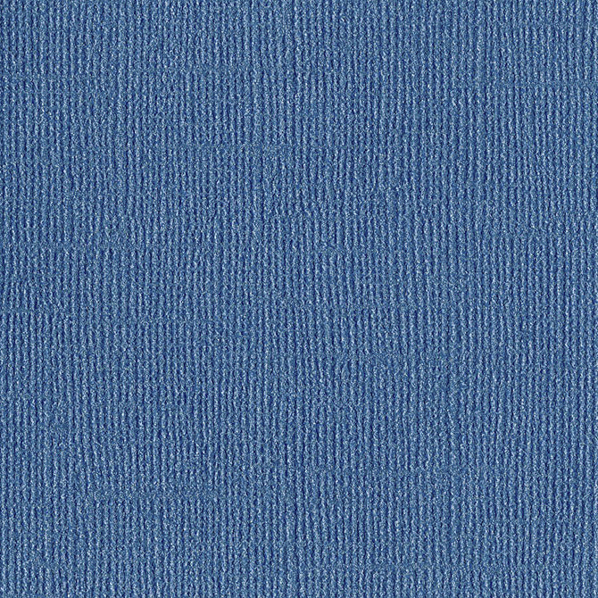 HANDSOME - denim blue 12x12 cardstock with shimmery mica coating - Bazzill Bling Collection