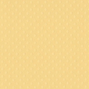 CORNMEAL 12x12 Dotted Swiss cardstock - Bazzill Basics Paper - soft yellow in color
