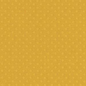 HONEY color Dotted Swiss 12x12 cardstock - 12x12 embossed dot pattern - Bazzill