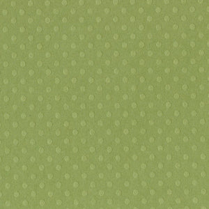 IRISH EYES Dotted Swiss 12x12 Cardstock - Bazzill Basics Paper - soft moss green in color