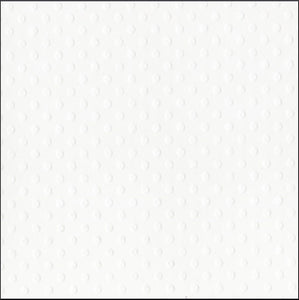 SALT white Dotted Swiss 12x12 cardstock with embossed dot geometric pattern - by Bazzill