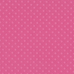 BALLET pink rose Dotted Swiss 12x12 cardstock - Swiss dot geometric embossed pattern - Bazzill Paper