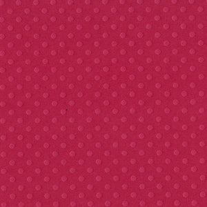 PIROUETTE 12x12 Dotted Swiss cardstock from Bazzill Basics Paper - candy red in color