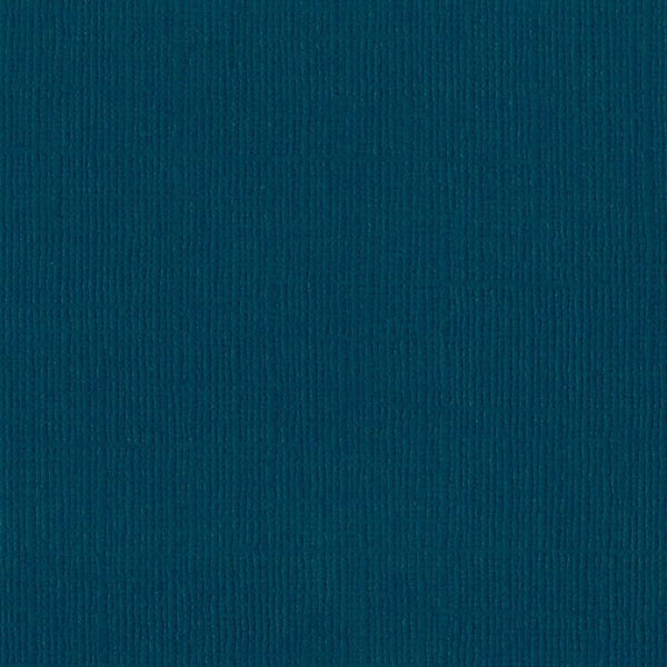 Bazzill BAHAMA turquoise blue cardstock - 12x12 inch - 80 lb - textured scrapbook paper