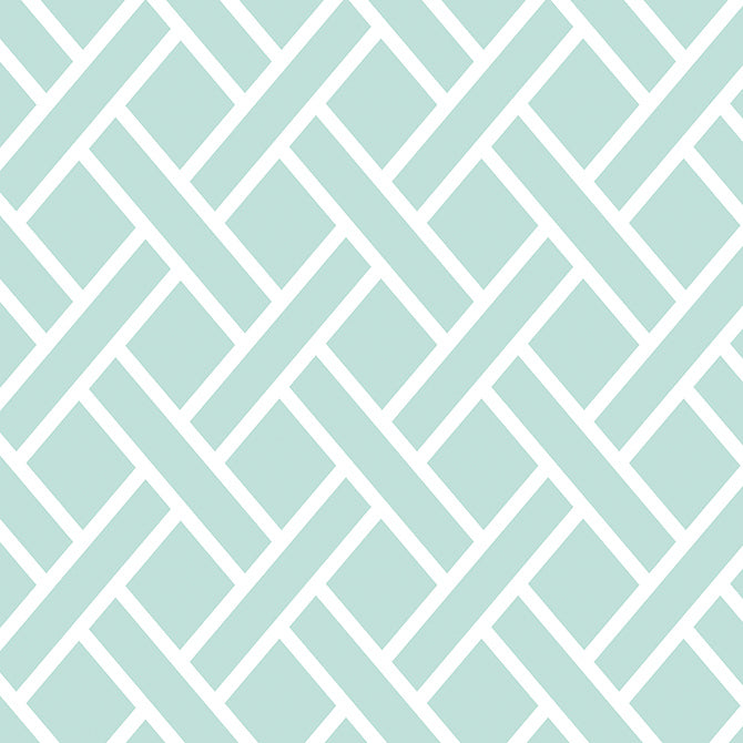 Light Aqua Trellis - 12x12 single-sided patterned paper from coredinations