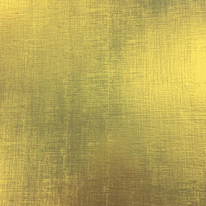 Metallic gold foil with featuring a linen texture - 12x12 foil sheet by American Crafts
