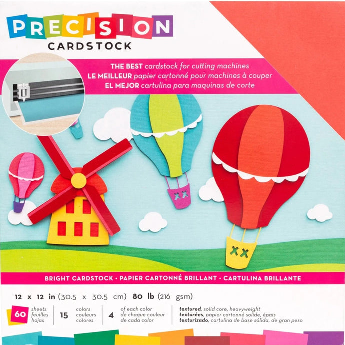 BRIGHTS Precision Cardstock 60-pack