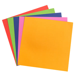 Brights Variety Pack has 60 sheets of 12x12 textured cardstock